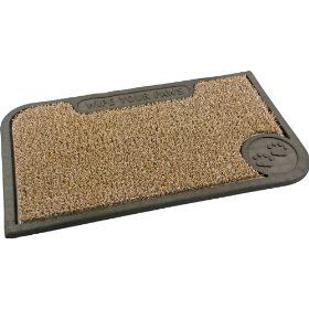 Clean Machine Wipe Your Paws 18-Inch by 30-Inch Doormat, Taupe