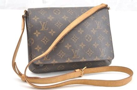 4aa8e698362b The Louis Vuitton Musette Monogram Tango Long Strap Shoulder Brown Canvas  Cross Body Bag is a top 10 member favorite on Tradesy.