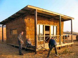 Straw Bale Construction Maison En Paille Maisons Naturelles