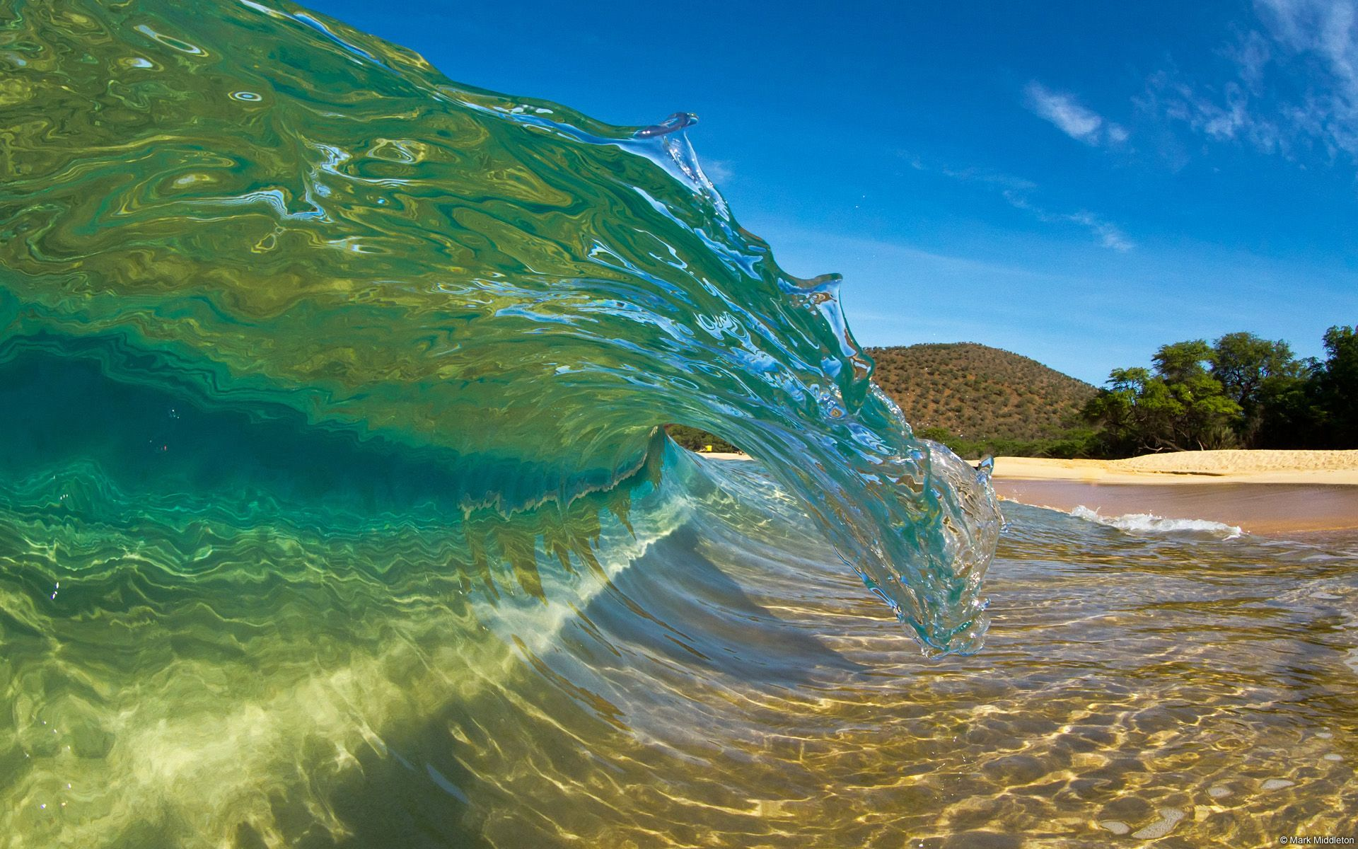 Tropical Island Beach Ambience Sound: Download Wallpaper Wave, Whirlpool