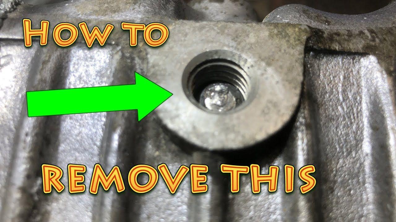 Remove Broken Bolt >> How To Remove A Broken Bolt In A Deep Hole Remove Broken Bolt In