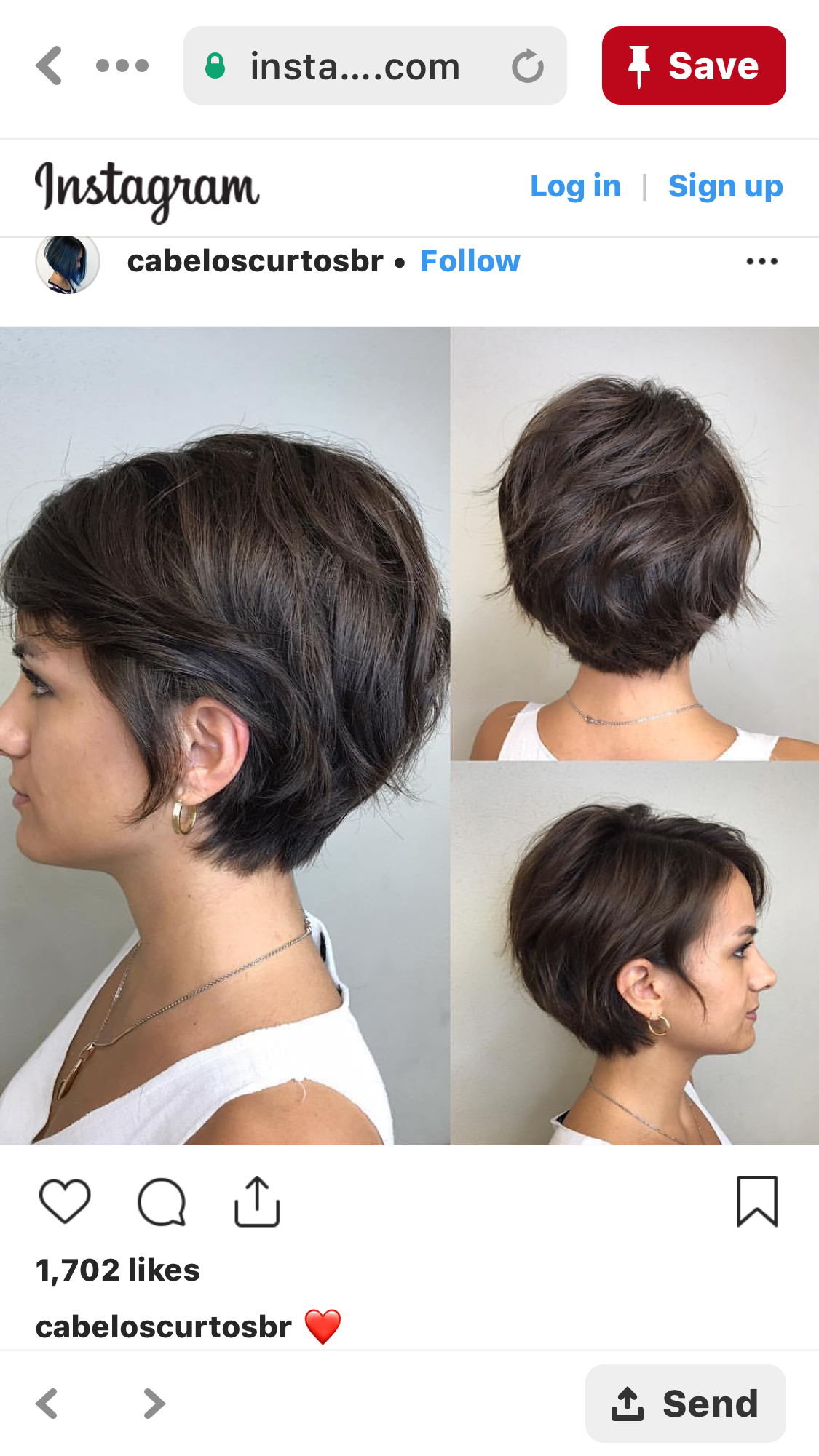 Growing Out Stage Thick Hair Styles Hair Styles Short Hairstyles For Thick Hair