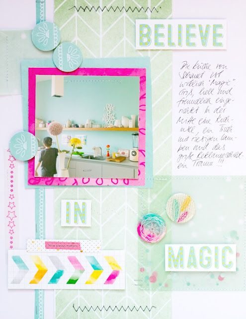Believe in the magic ... of a kitchen I Küchen-Layout mit dem Maikit 2015 der…
