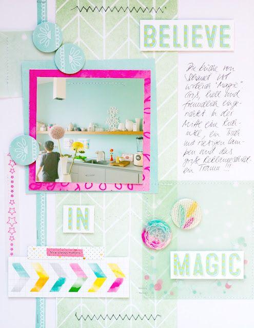 Believe in the magic ... of a kitchen I Küchen-Layout mit dem Maikit 2015 der…