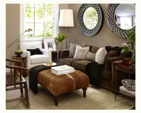 Very Cozy Brown Couch Living Room Living Room Colors Couch Design