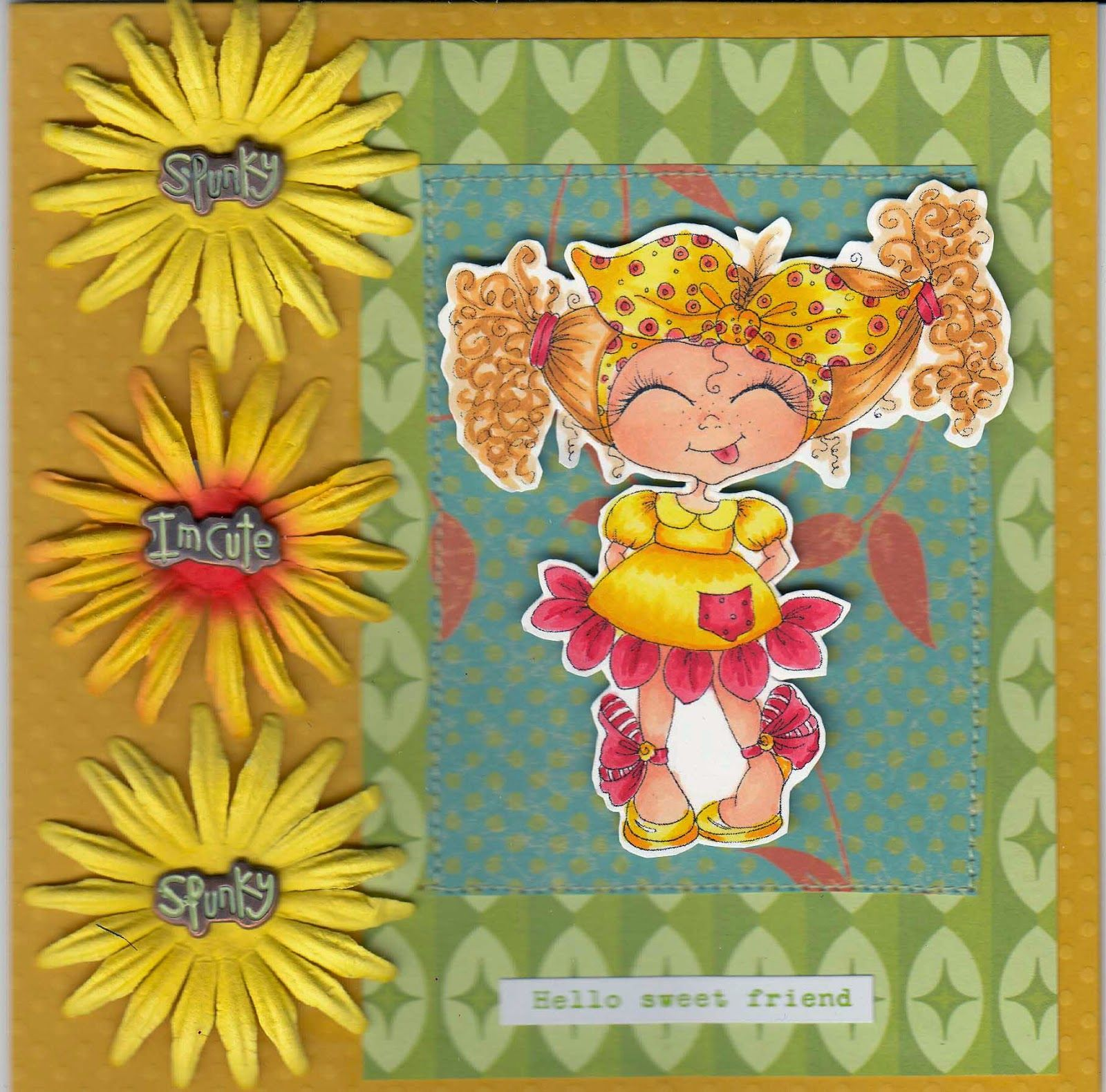 Scrapbook Stamp Society: Hello Sweet Friend