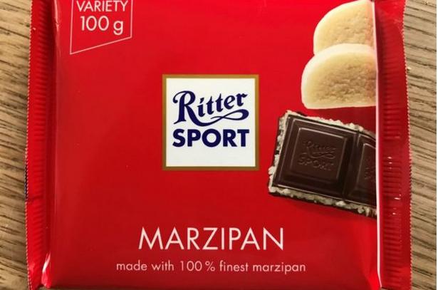 Ritter Sport Bar Marzipan in 2020 Marzipan, Candy bar
