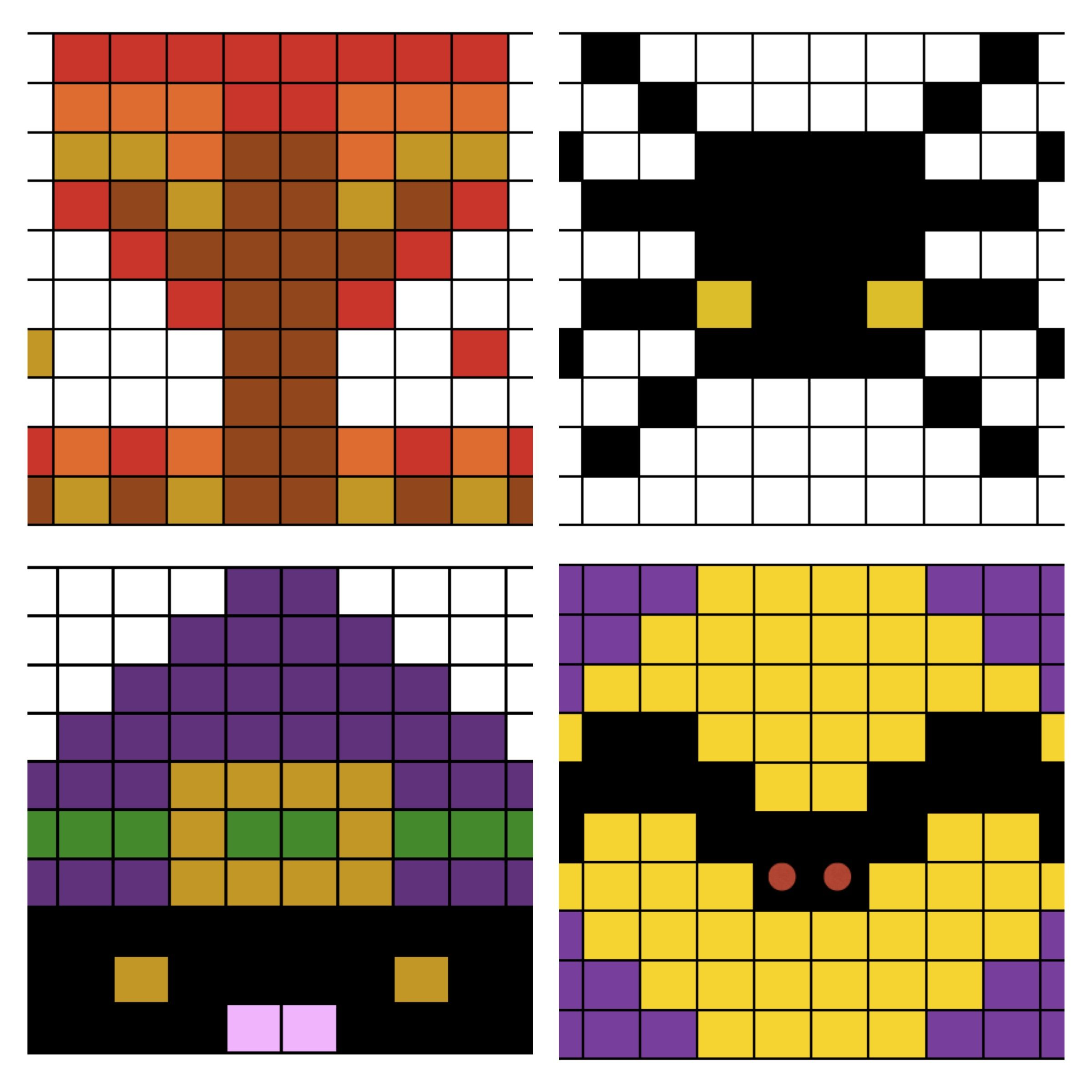 Halloween Math Worksheets Mystery Picture Puzzles