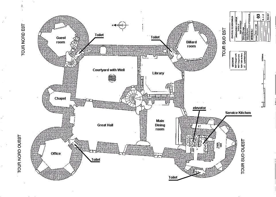 Floor Plan Of Second Level Medieval Castle De Montbrun Dournazac Haute Vienne France Castle Plans Castle Layout Medieval