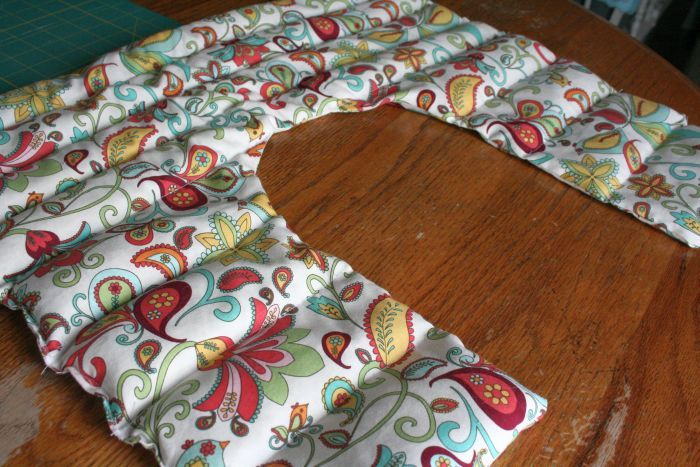 Rice Shoulder Heating Pad, with Lavender