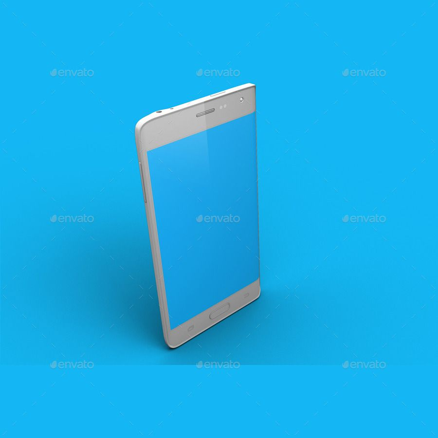 Galaxy Note Edge Smartphone Mock Up Vol.2