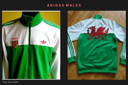 Adidas Wales Track Top Jacket HARD TO FIND !!!
