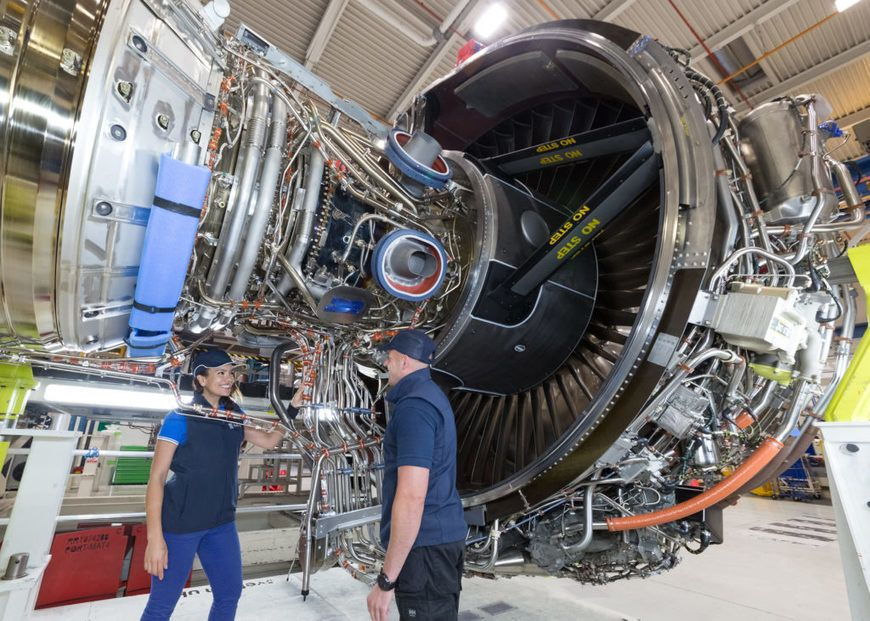 Aero engine manufacturer Rolls Royce has completed the first phase