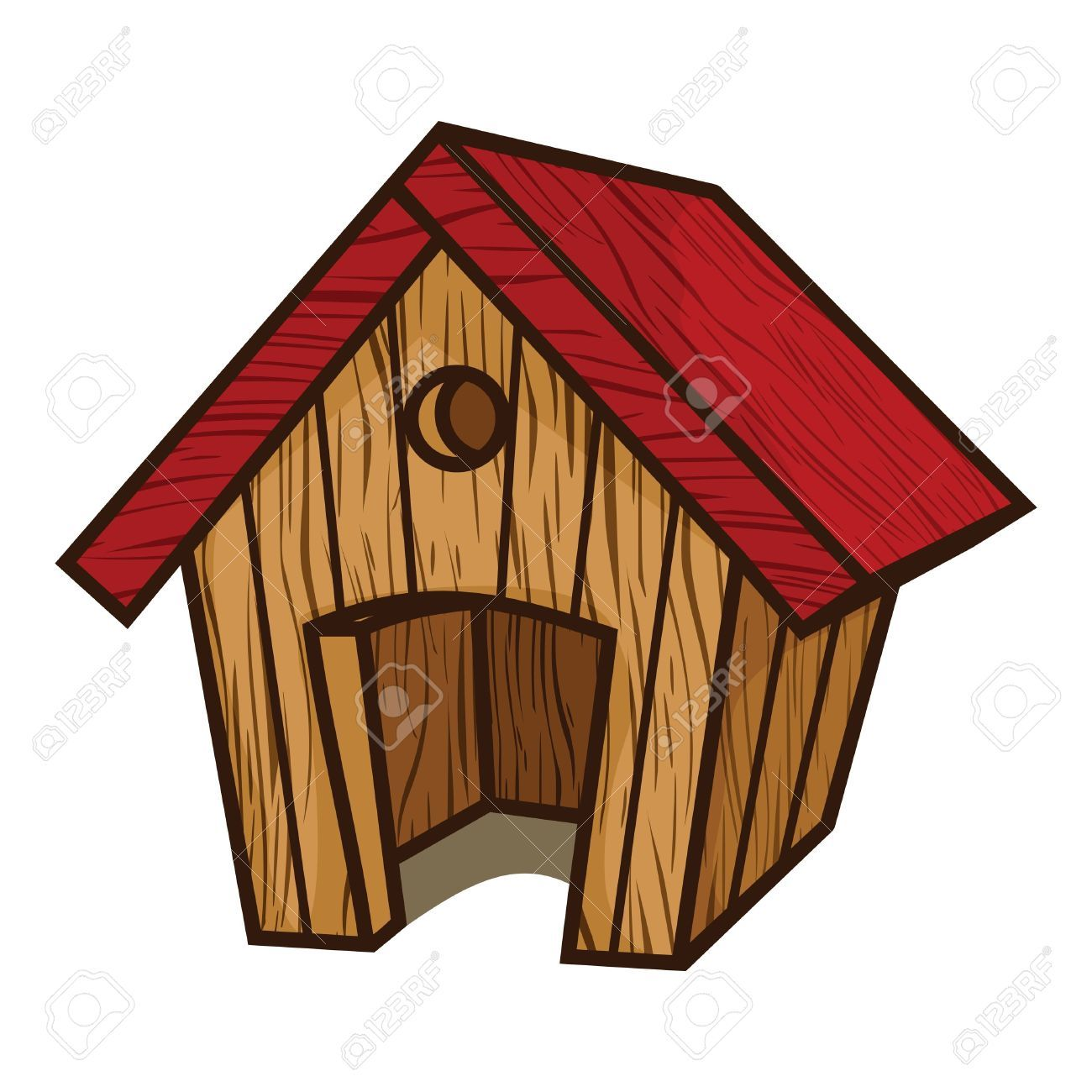 clipart of dog houses - photo #19