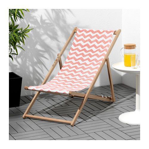 MYSINGSÖ Silla de playa - plegable rojo claro - IKEA sillas - sillas de playa