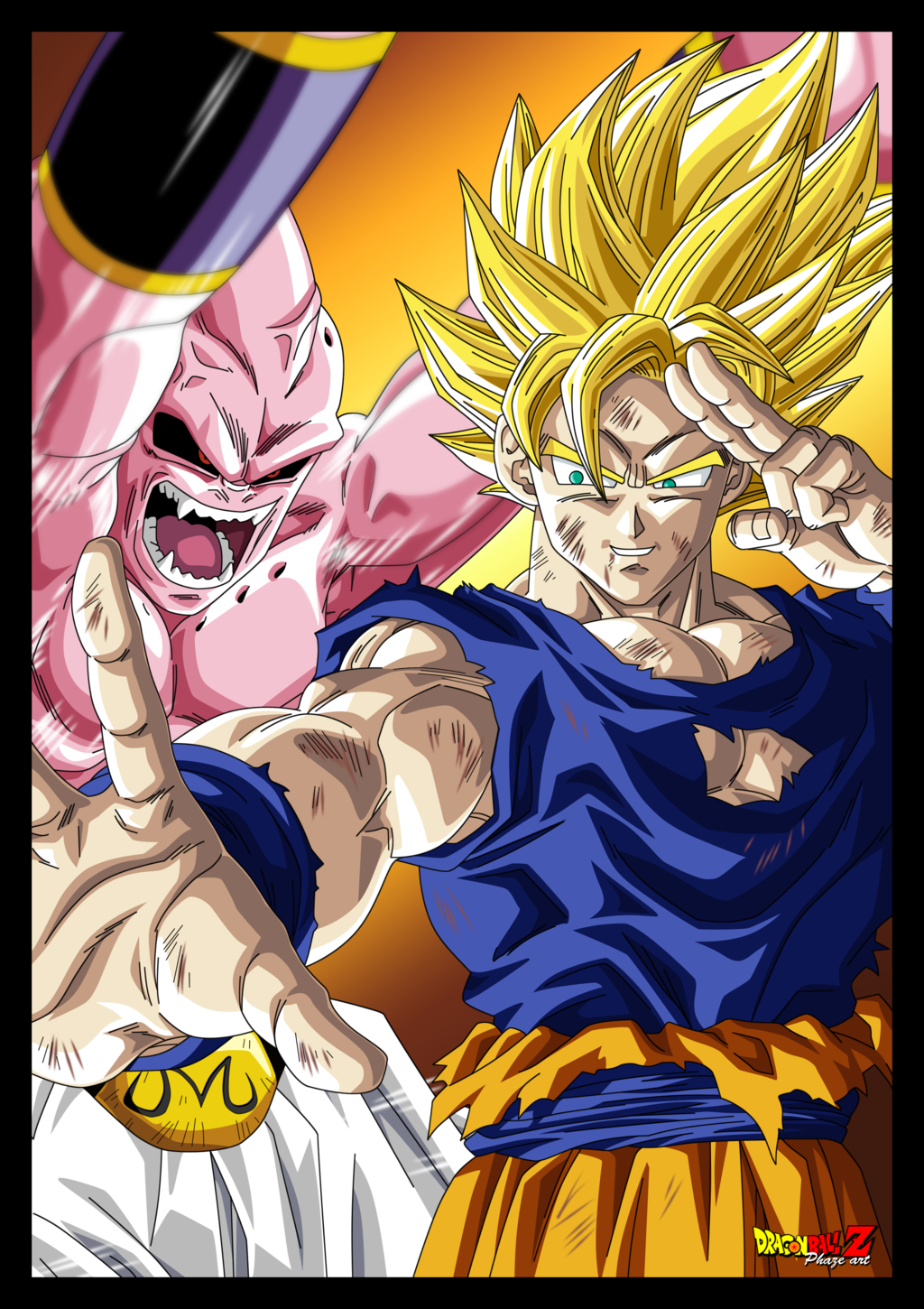 dragon ball z saga majin boo dublado mp4