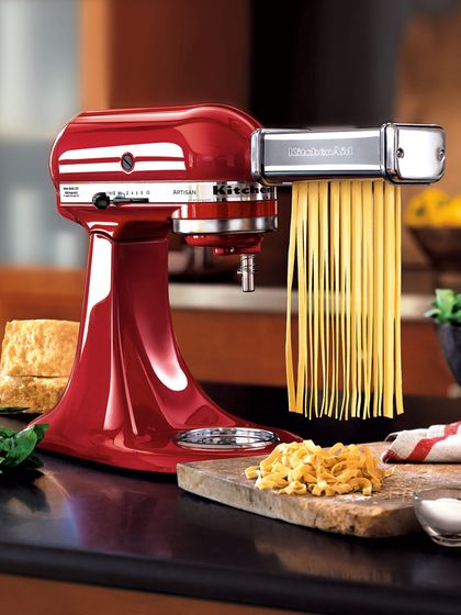 Pasta Roller Set Of 3 By Kitchenaid At Gilt Kitchenaid Pasta Roller Pasta Roller Kitchen Aid Mixer Attachments