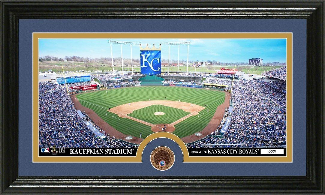 Aaa Sports Memorabilia Llc Kansas City Royals Infield Dirt Coin Panoramic Photo Mint Kansascityroyals Royal Kansas City Royals Panoramic Photo Kansas City