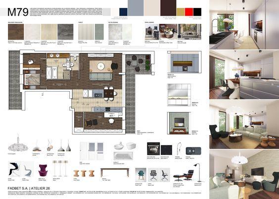 Interior design presentation layout concept boards portfolios also best images rh pinterest