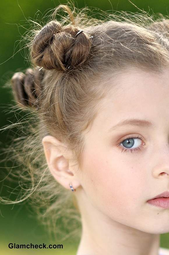 Outstanding Fashion Hairstyles Little Girls And Bun Hairstyles On Pinterest Hairstyles For Women Draintrainus