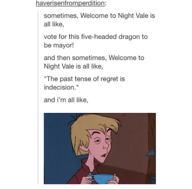 Reasons we love Welcome to Night Vale                                                                                                                                                                                 More