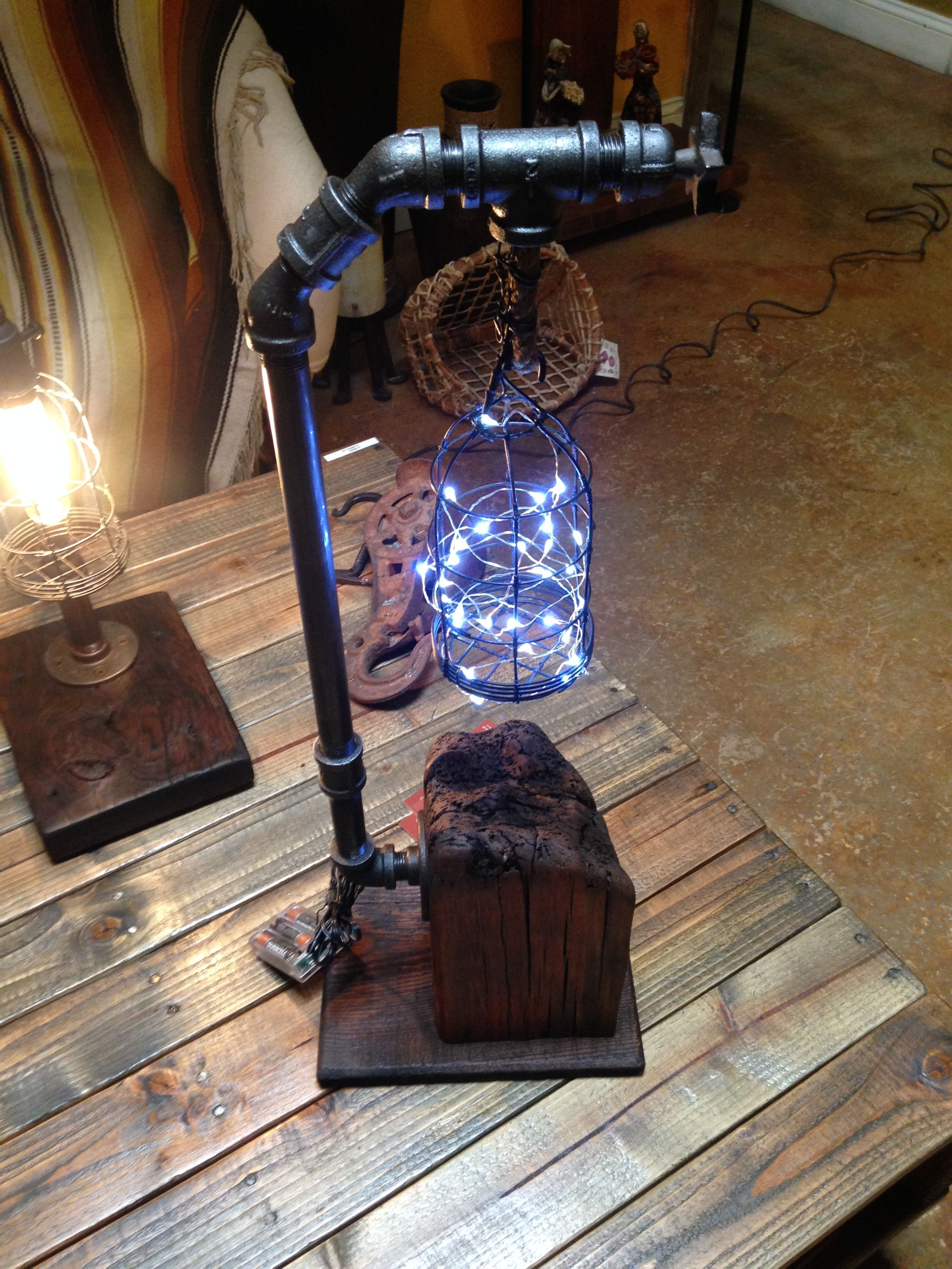 Steampunk Lamp, Industrial Furniture, Industrial Chic, Vintage Industrial, Lighting Ideas,
