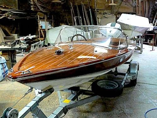Pin Op Poncelet Classic Wooden Boats