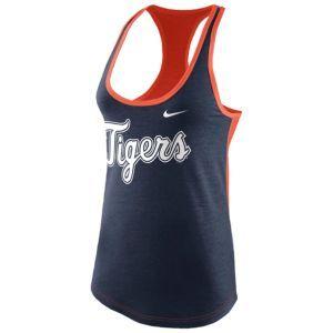 Nike MLB Tri-Blend Racerback Tank - Women's - Boston Red Sox - Red Heather