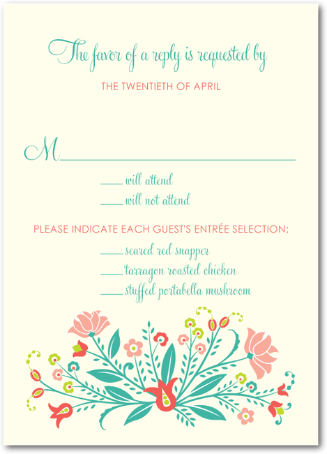 Create Custom Luxe Wedding RSVP Cards At Shutterfly That Fit The Theme For Your Big Day