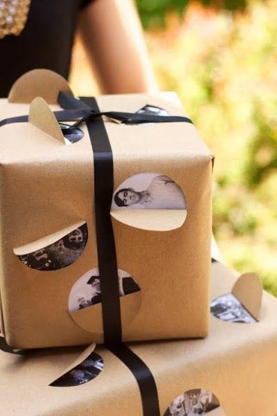 Envolver #regalos de forma original ¡Sorpresa! Id Pinterest