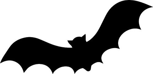 Bat Bat Silhouette Halloween Silhouettes Halloween Templates