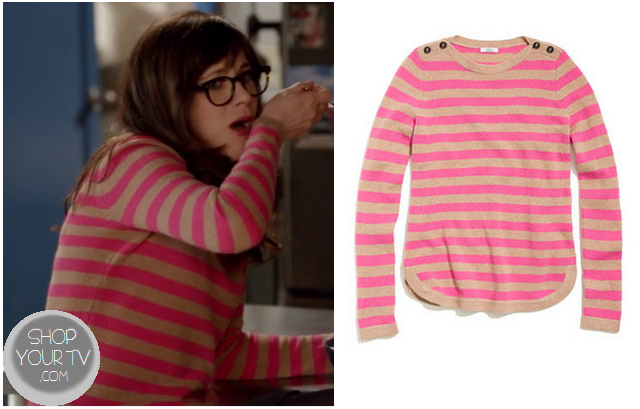 Shop Your Tv: New Girl: Season 2 Episode 22 Jess's Pink Striped ...