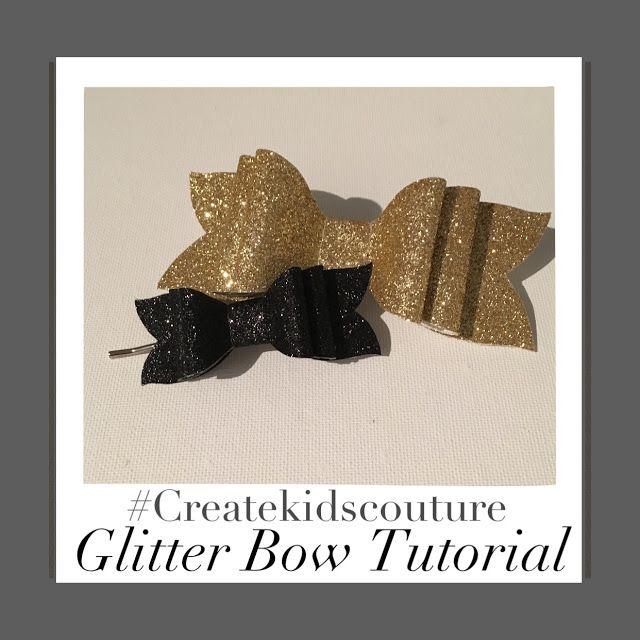 Glitter Bows Free Pattern!