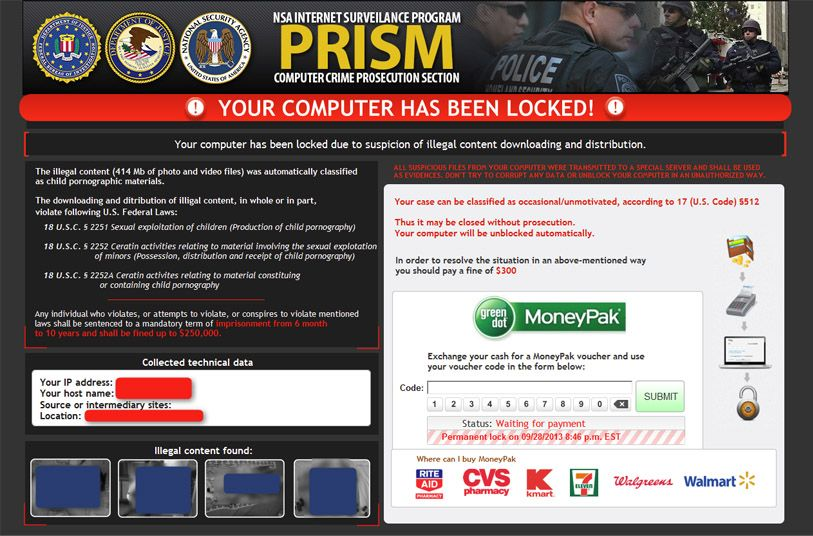 Ransomware Screenshot Collection | Malware & Security