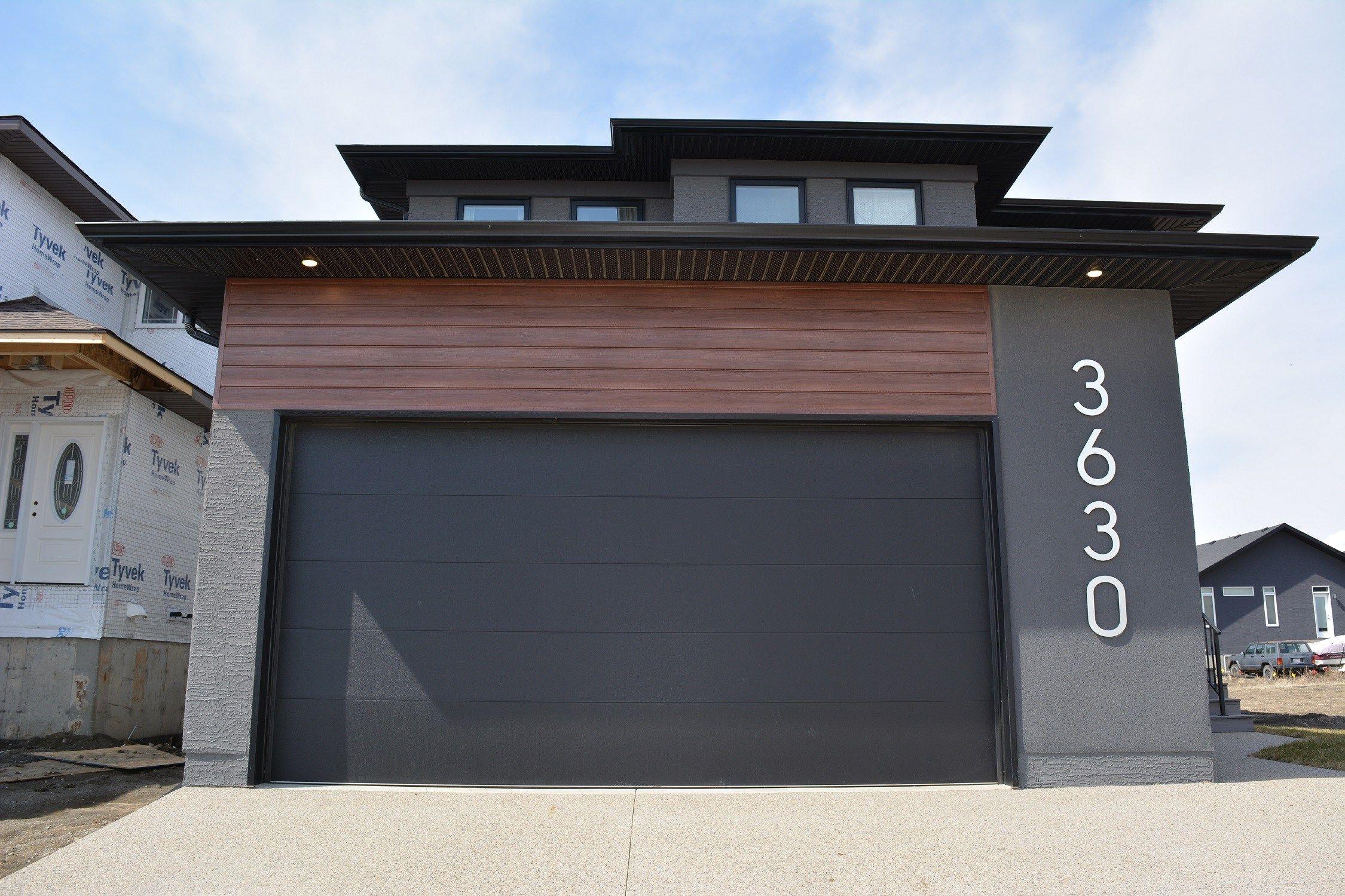 Flush Panel Garage Doors Queen City Overhead Door Inside Dimensions