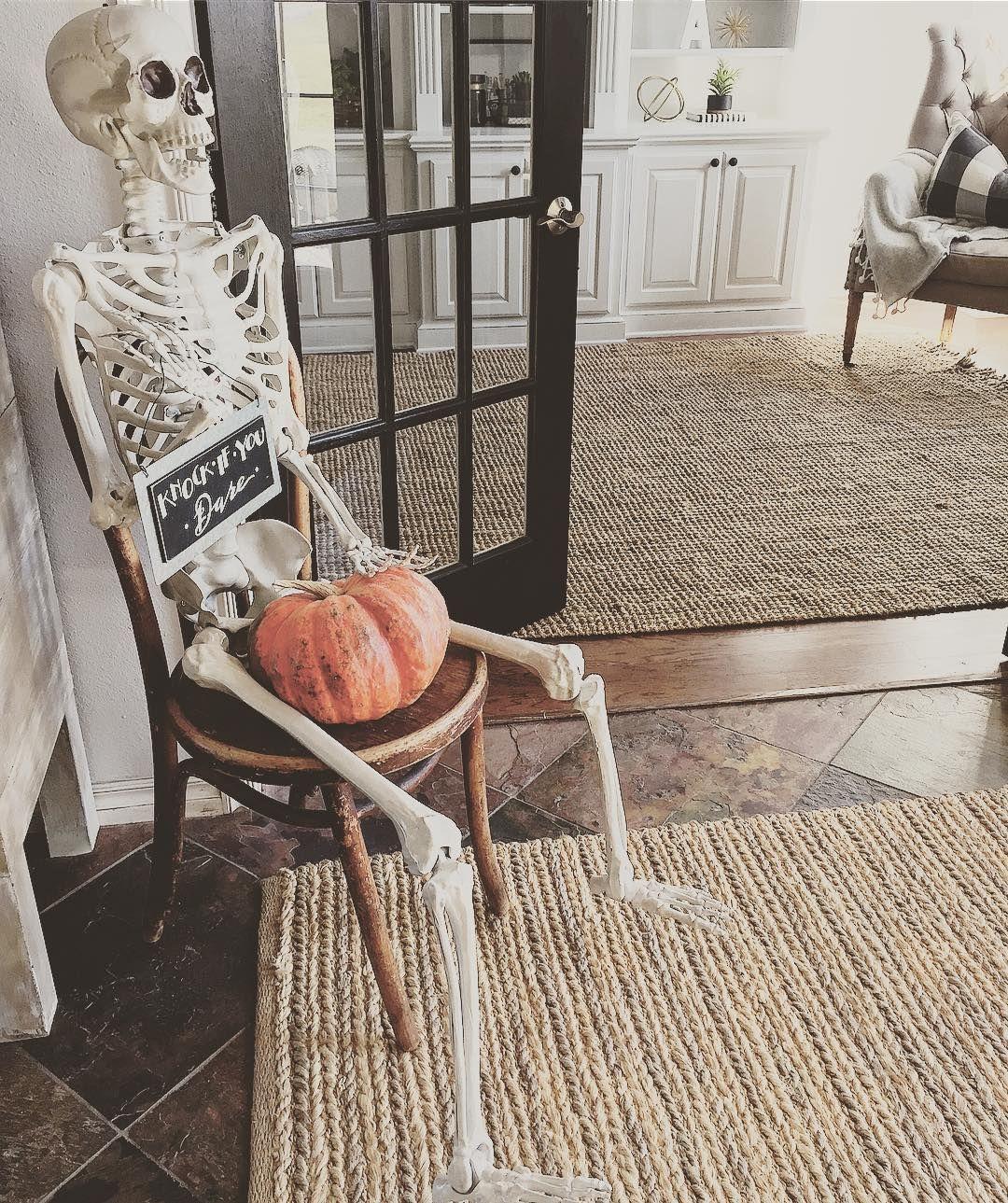 Halloween in grays
