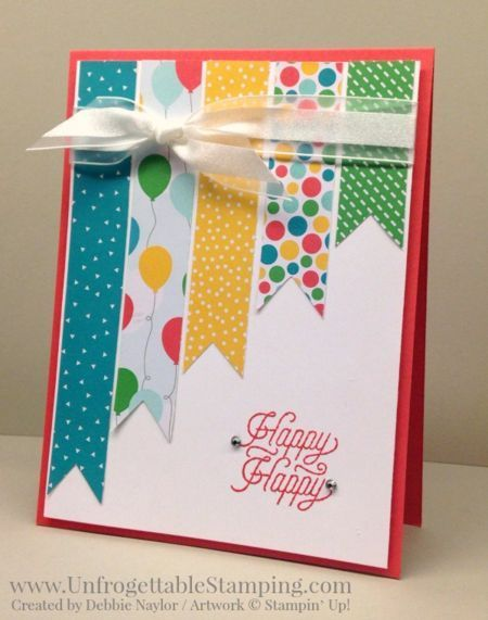 QE card: Cherry on Top birthday card featuring the March Paper Pumpkin stamp set