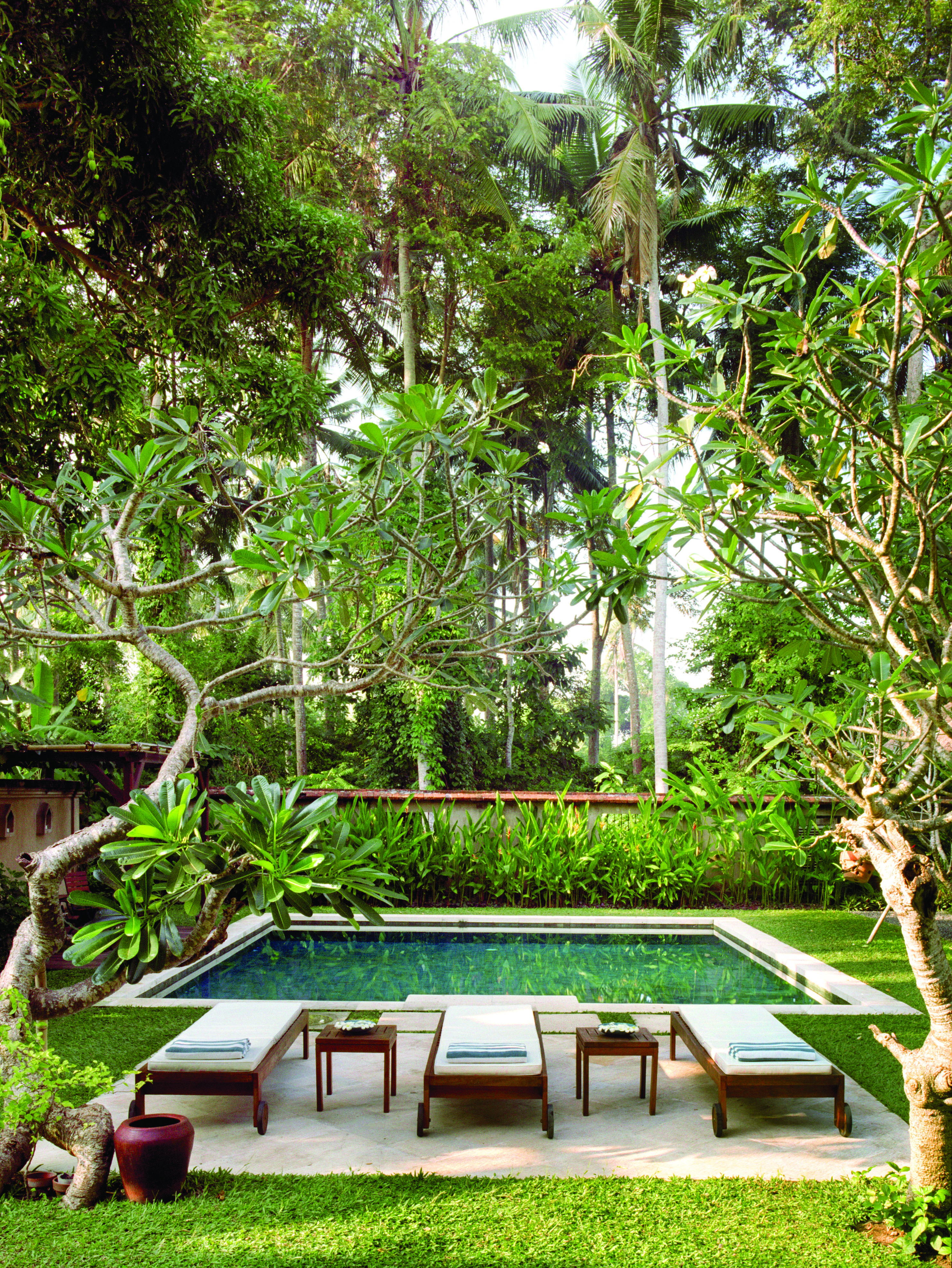 Above Ground Pool Ideas To Beautify A Prefab Swimming Pool And Give It A Custom Look Backyard Pool Pool Landscaping Backyard Pool Designs