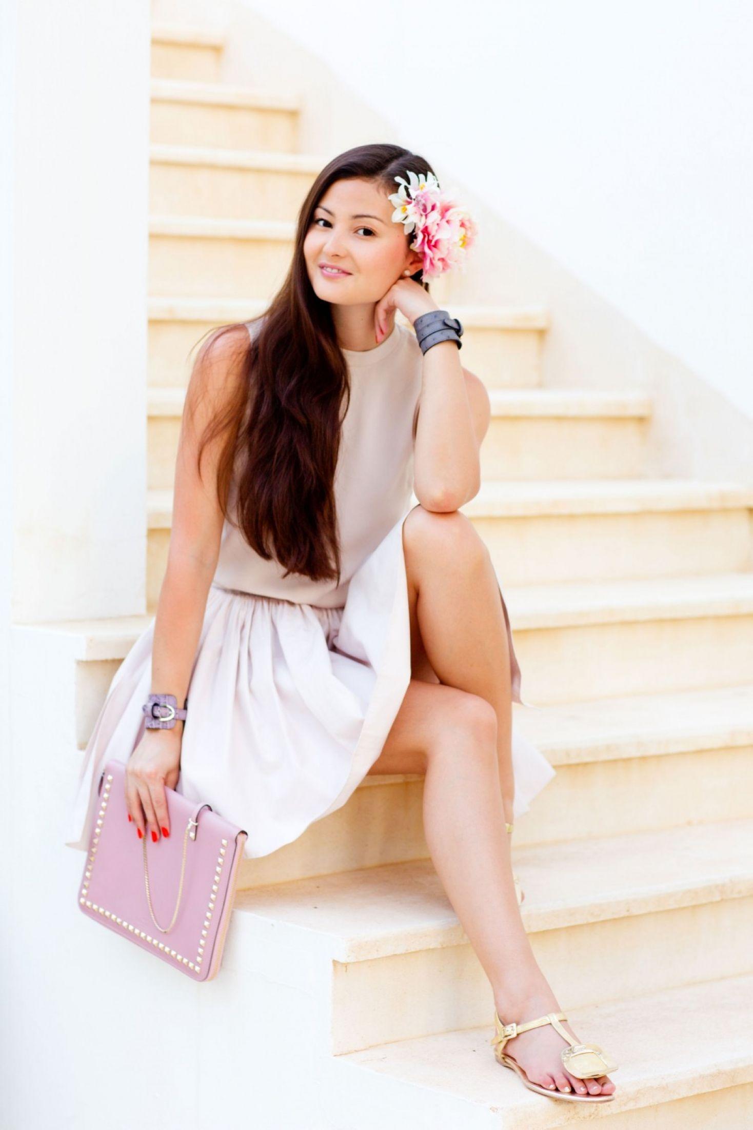 Peony Lim - Lovely honeymoon attire.