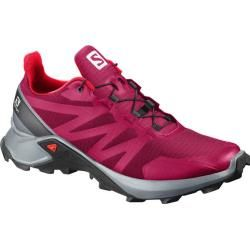 Salomon Damen Trailrunningschuhe Supercross W, Größe 38 ? in Cerise./Pearl Blue/Fiery Coral, Größe 3 #hikingtrails