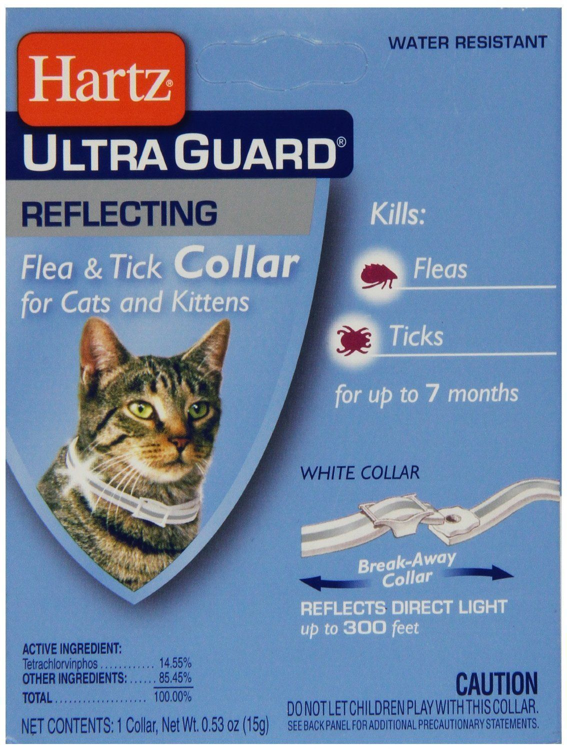 Hartz 02899 Advanced Guard Reflecting Water Resistant Flea And Tick Collar For Cats Visit The Image Link More Details This Flea And Tick Cat Collars Fleas