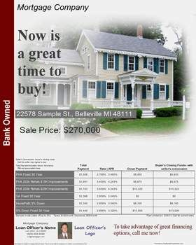 Real Estate Flyer Ideas  Mortgage Flyers  Software  Real Estate