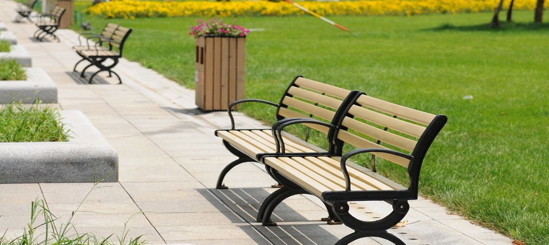 Composite Garden Bench Slats For Sale Long Life Park Bench Materials Wpc Outdoor Furniture
