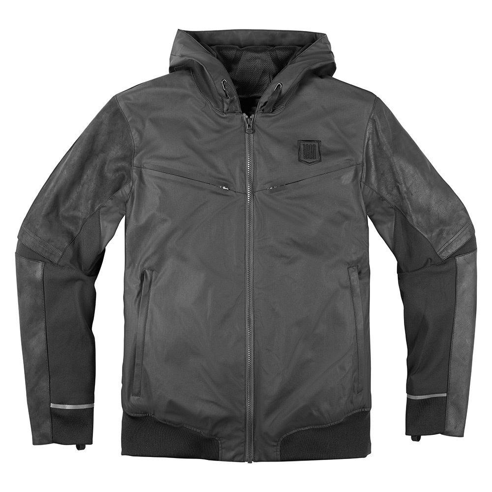 Icon 1000 Varial Black Jackets Icon Motosports