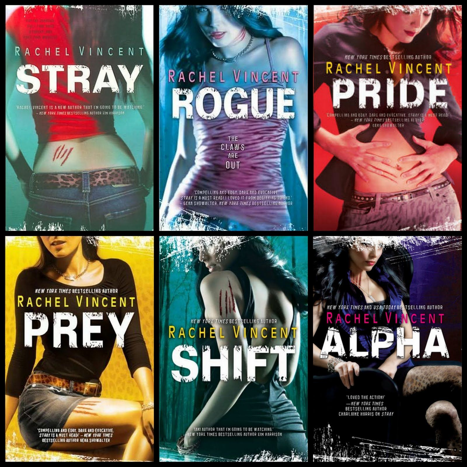 Image result for rachel vincent shifters series