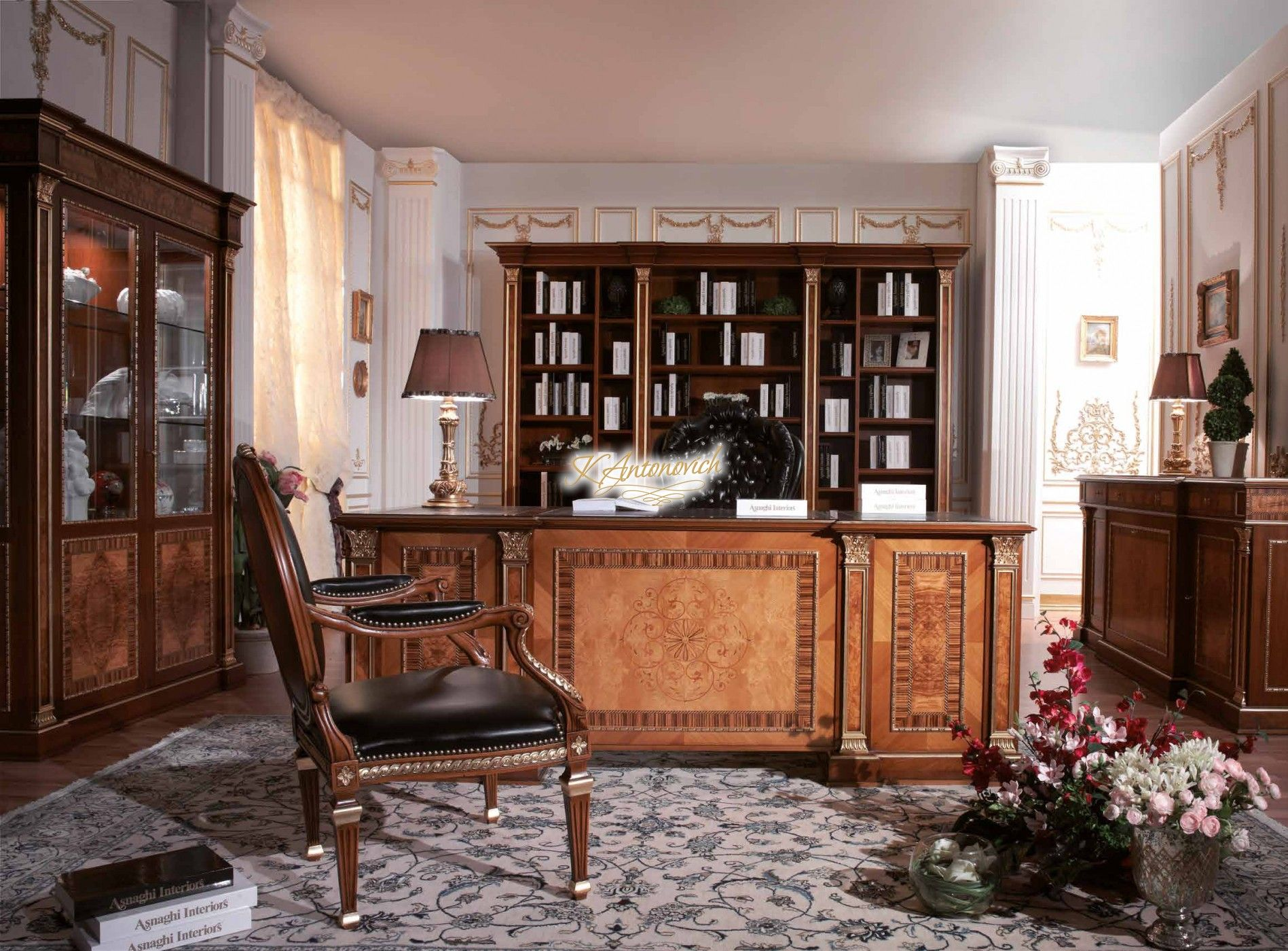 office interiors in classic style offering a highly personalized