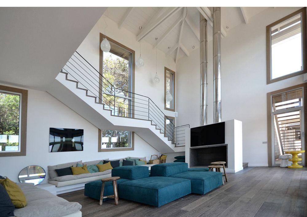 La villa Fray Leon par 57 Studio au Chili | Maisons de rêves ...