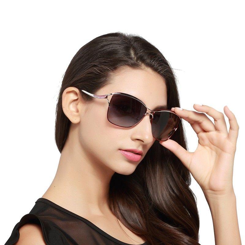 AliExpress Luksusowe okulary przeciwsłoneczne damskie bez