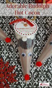 Adorable cadeau de vacances bricolage Rudolph Hot Cocoa avec Printable #adorable #Cocoa #DIY #Gift #Hol #Occasions #cadeaunoelfaitmainenfant Adorable cadeau de vacances bricolage Rudolph Hot Cocoa avec Printable #adorable #Cocoa #DIY #Gift #Hol #Occasions #cadeaunoelfaitmainenfant