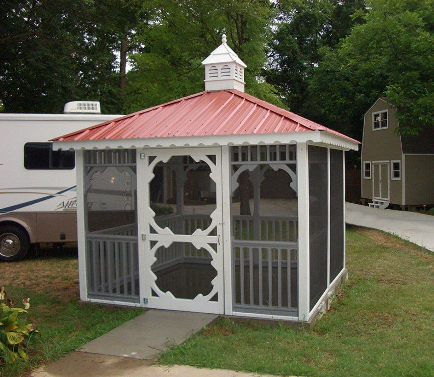 Exterior Lovely Garden Gazebo Canopy Full Screen Canopy Curtain Outdoor Party Tent And Aluminum Hardtop Gazebo Outdoo Hardtop Gazebo Gazebo Metal Frame Gazebo